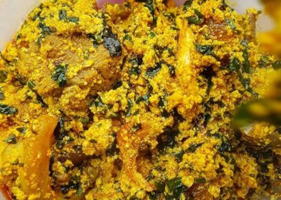 Egusi (Plain and Mix Meat)