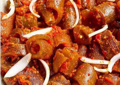 Spiced Ponmo